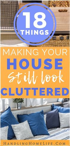 18 Things Making Your House STILL Look Cluttered: Decluttering Tips – 2019 - Paper ideas Playroom Organization, Home Organization Hacks, Paper Organization, Declutter Your Home, Organizing Your Home, Organizing Tips, Organising, Minimalism Living, Clutter Solutions