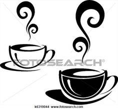 dibujos de granos de cafe - Buscar con Google