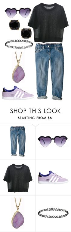 """""""Untitled #216"""" by hey-im-macie ❤ liked on Polyvore featuring Forever 21, adidas, Helix & Felix, Dorothy Perkins, Kate Spade, women's clothing, women, female, woman and misses"""