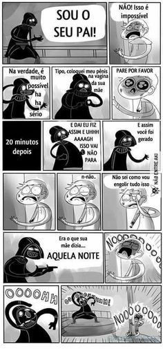 Funny Star Wars pics – The force is strong when it comes to treating you to yet another funny Star Wars tribute. While we are still waiting to see. Memes Humor, Funny Jokes, 9gag Funny, Pixar, What Really Happened, Humor Grafico, Star Wars Humor, You Are The Father, Funny Comics