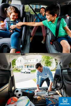 Life with little ones can be messy. Luckily, there's an available HondVAC® in the all-new 2018 Honda Odyssey to keep things clean and carry on.