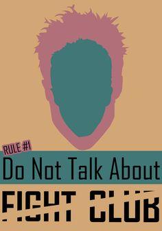#fightclub #minimalist #poster