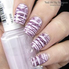 Nail Art by Belegwen: Essie Go Ginza and China Glaze Rendezvous With You