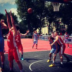 Ogólnopolski finał Orlik Basketmania 2015 w #Radom.iu i z udziałem radomskiego zespołu Pioruny.