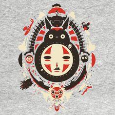 Studio Ghibli Collage T-Shirt Anime Movies