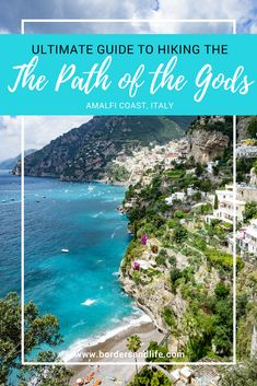 The Ultimate Guide to hiking The path of the Gods includes everything you need to know about this picturesque hike along the Amalfi Coast | hiking Italy | Path of the Gods Italy | Hiking Amalfi Coast | Amalfi Coast Italy | Things to do Amalfi Coast | Things to do Italy
