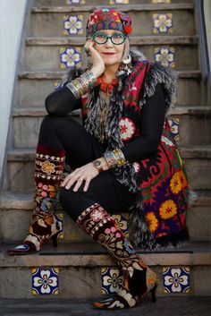 Suzi Click at The Grau Haus - ADVANCED STYLE