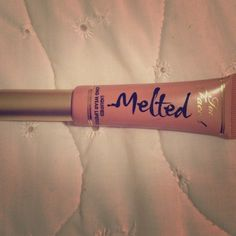Melted sugar Too faced melted sugar used once didn't like the color on me Too Faced Makeup Lipstick