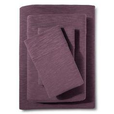 Organic Jersey Sheet Set Desert Purple (Full) - Threshold