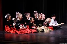 Kids during the party scene at The Nutcracker 2013 #photography