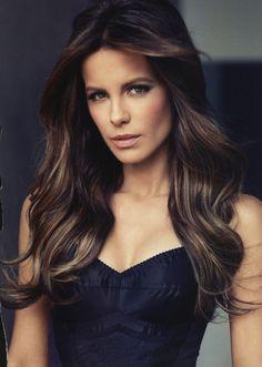 Kate Beckinsale - hair/makeup perfection!