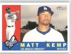 Matt Kemp - Los Angeles Dodgers - 2009 Topps Heritage Card # 422 - MLB Trading Card by Topps. $1.87. Matt Kemp - Los Angeles Dodgers - 2009 Topps Heritage Card # 422 - MLB Trading Card