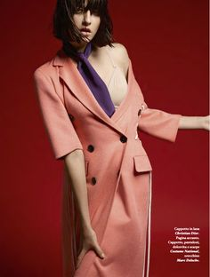 fall in love: cristina herrmann, sarah engelland and emeline ghesquiere by bruno ripoche for io donna 20th september 2014