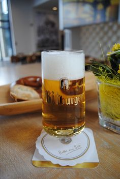 Bitburger Brewery.. Hopefully we can bring one of these lovely glasses home!  @Mary Powers Poynter