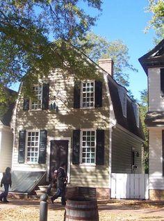 FARMHOUSE – vintage early american farmhouse in historic colonial williamsburg.