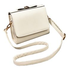 KELEKA Fashion Women Handbag Cute Bow PU Leather Shoulder Crossbody Messenger Bags -- Click on the image for additional details.