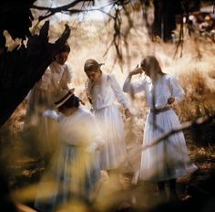 A Picnic At Hanging Rock - a beautiful, unsettling film.