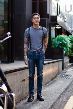 Korean street fashion #menswear #simplydapper #stylish