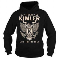 Awesome Tee Team KIMLER Lifetime Member - Last Name, Surname T-Shirt T shirts