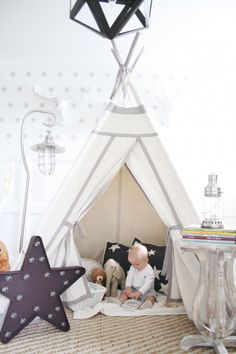 Reading TeePee Nook with Pottery Barn Kids