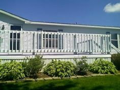landscaping around deck | Visit whitepineforsale.blogspot.com
