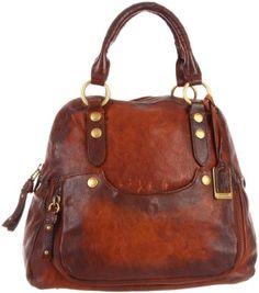 Amazon.com: Frye Elaine Vintage Shoulder Bag,Whiskey