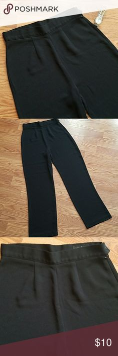 "LuLu Alexander Slacks Beautiful LuLu Alexander Slacks. Black. Side zipper and button closure. Gently used. Some wear. Wash before wear. Inseam approx 30"". Waist side to side approx 14 1/2"". No pockets. LuLu Alexander  Pants"