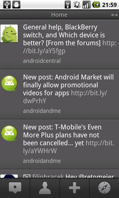 Android UI Patterns: Action Bar Anti-Pattern Gallery