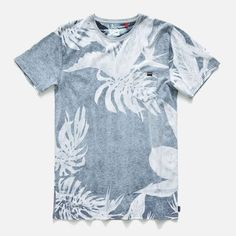 The mens Sunsets Tee is a premium 100% organic cotton tee with a push through yardage print.
