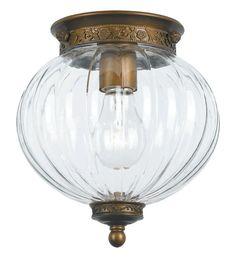 Crystorama Lighting Group 5780 Camden 1 Light Flush Mount Ceiling Fixture with C Antique Brass Indoor Lighting Ceiling Fixtures Flush Mount