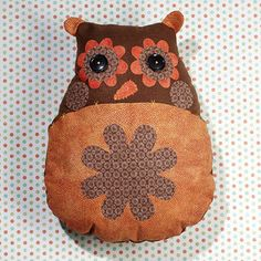 Owl Cushion | Craft Ideas & Inspirational Projects | Hobbycraft