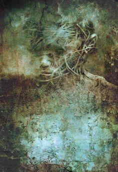 Boy of Bone: twelve stories inspired by the Mütter Museum - Ego - AlterEgo Art For Art Sake, Portrait Art, Male Portraits, Figure Painting, Photo Manipulation, Fine Art Photography, Photography Tools, Dark Art, Fantasy Art