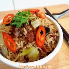 DELISHAR: Stewed Pork Cabbage Rice (Rice Cooker)