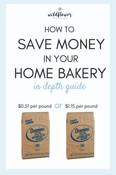 Learn how to save money in your Home Bakery! Where to shop for expensive ingredients, and how to save money on your most bought items. Home Bakery Business, Baking Business, Cake Business, Business Tips, Business School, Online Business, Bakery Kitchen, Bakery Cafe, Bakery Shops