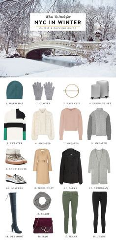 What to Pack for New York City in Winter nyc packing list, nyc packing list winter, nyc packing, new york city travel, packing tips, packing tips for vacation, packing tips for travel, packing tips for nyc