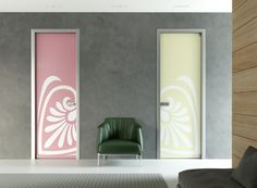 "Porta a battente in alluminio ""Classic Luman"" Mod.GRAN DAMA_Collezione COLOR  ""Classic Luman"" single hinged door  Mod. GRAN DAMA_COLOR Collection di #MRartdesign"
