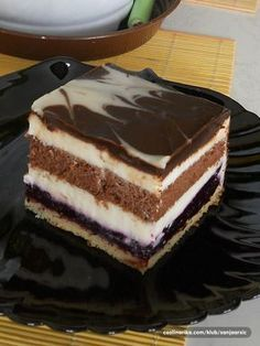 Tako je sočan i osvežavajući da je grehota a ne probati ga Torte Recepti, Kolaci I Torte, Baking Recipes, Cake Recipes, Dessert Recipes, Posne Torte, Rodjendanske Torte, Torta Recipe, Croatian Recipes