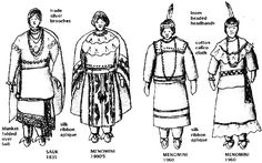 NativeTech: Great Lakes Region: REGIONAL OVERVIEW OF NATIVE AMERICAN CLOTHING STYLES