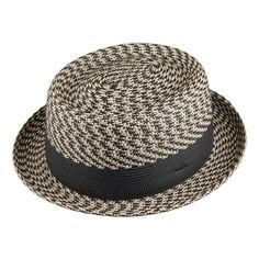 f449a3d62f45b Bailey Hats Telemannes Pork Pie Hat - Natural