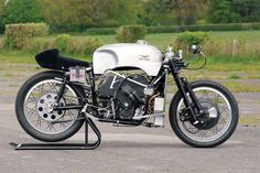 Moto Guzzi V8 in its glory, amazing engineering for its time.