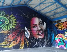 Street art en Guadeloupe : des fresques au style très différent Street Art, Great Paintings, Mural Painting, Les Oeuvres, Concept Art, Halloween Face Makeup, This Or That Questions, Perception, Never