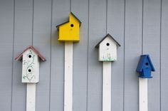 Give Birds a Home With These 23 Free Birdhouse Plans