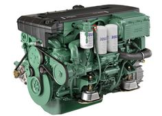 Volvo Penta D4 260-hp: The D4 was designed from the outset as a marine engine. In other words, it is not like most marine diesels which were originally designed for trucks and then refitted for marine use.