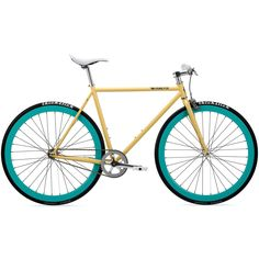 Pure Fix Original - X-Ray Cream/Turquoise Fixed Gear Bike