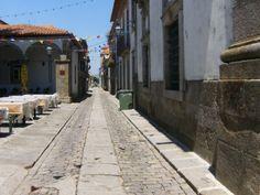 caminha Portugal, Sidewalk, Places, Walkways, Pavement
