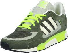 Adidas ZX 850 Schuhe oliv neon gelb