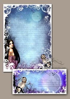Stationery - Stationary - Fairy & Fantasy Art