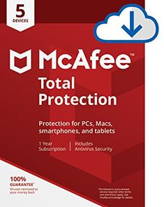 McAfee Total Protection 2018 is Award-winning antivirus software that helps you to safeguard your computer. It is free to download and suitable for both 32 Bit and 64 Bit