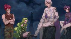 Crimson Rubeus, Green Esmeraude, Prince Diamond, Blue Saphir - Sailor Moon Crystal