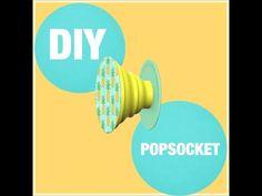 D.I.Y. Pop-socket!! - YouTube